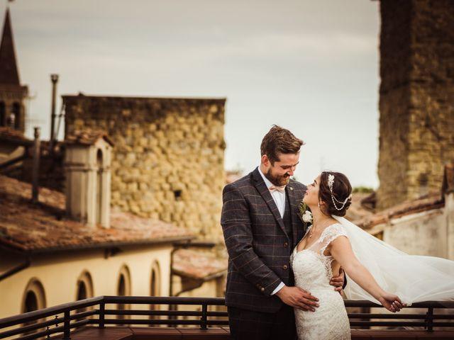Il matrimonio di James e Carol a Arezzo, Arezzo 72
