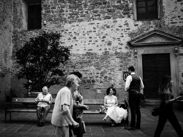 Il matrimonio di James e Carol a Arezzo, Arezzo 75