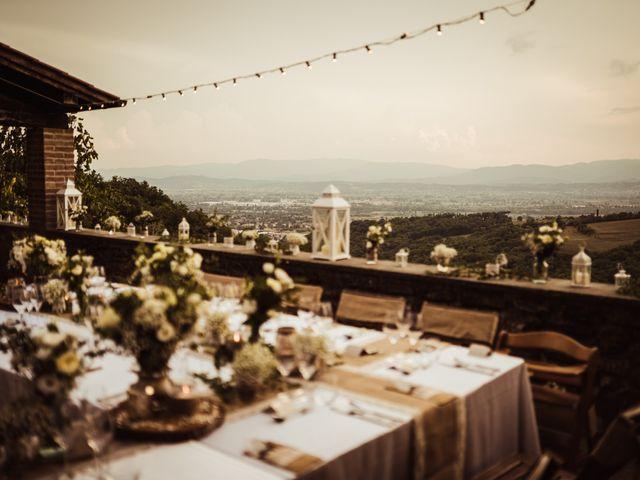 Il matrimonio di James e Carol a Arezzo, Arezzo 92