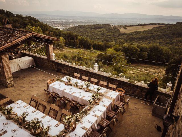 Il matrimonio di James e Carol a Arezzo, Arezzo 93