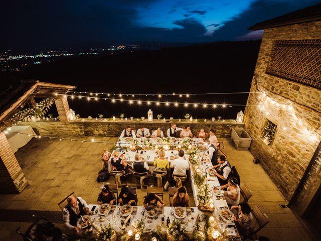 Il matrimonio di James e Carol a Arezzo, Arezzo 100