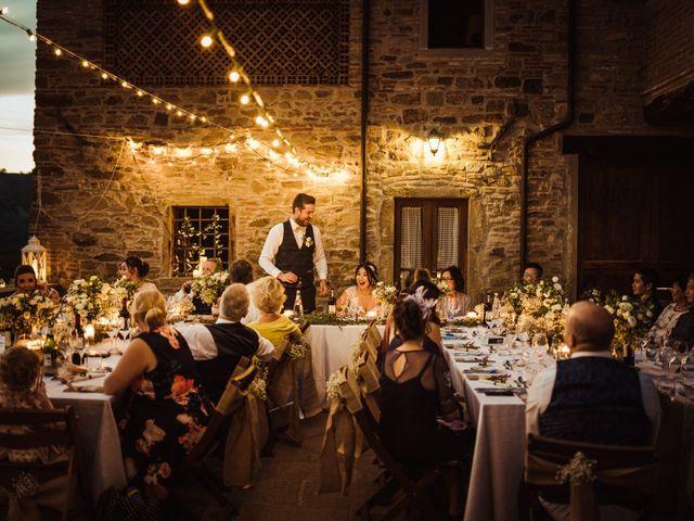 Il matrimonio di James e Carol a Arezzo, Arezzo 101