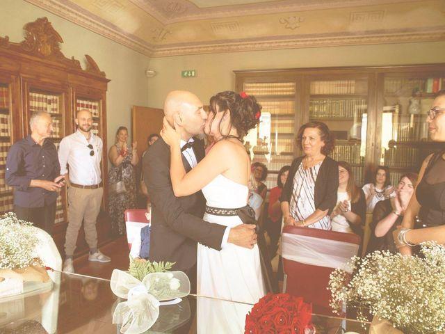 Il matrimonio di Federico e Elisa a Certaldo, Firenze 2