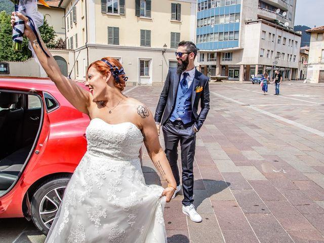 Il matrimonio di Marco e Alice a Gardone Val Trompia, Brescia 79