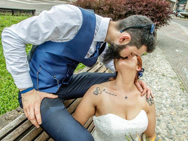 Il matrimonio di Marco e Alice a Gardone Val Trompia, Brescia 103