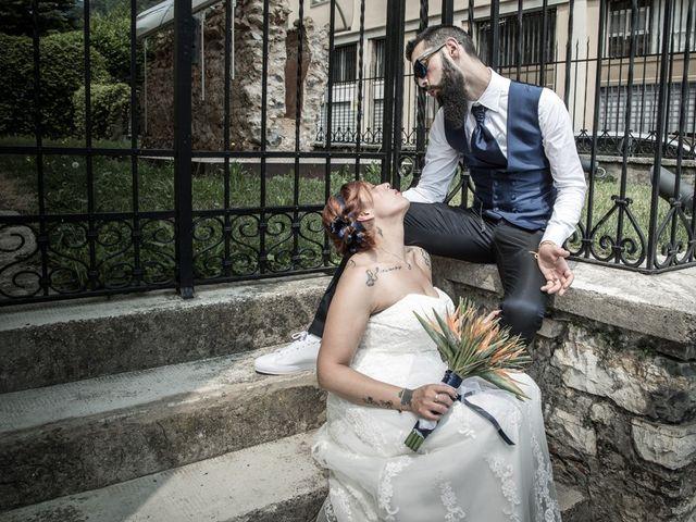 Il matrimonio di Marco e Alice a Gardone Val Trompia, Brescia 122