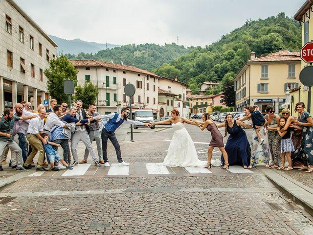 Il matrimonio di Marco e Alice a Gardone Val Trompia, Brescia 135