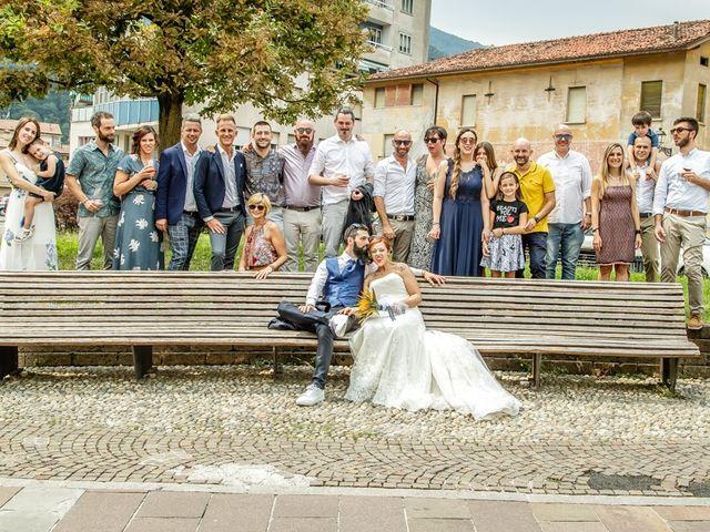 Il matrimonio di Marco e Alice a Gardone Val Trompia, Brescia 141