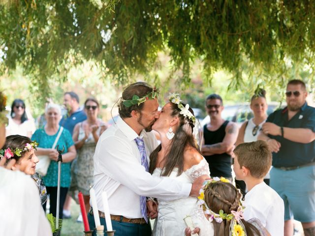 Il matrimonio di Davide e Francesca a Trecate, Novara 10