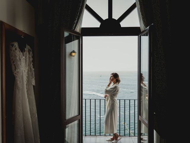 Il matrimonio di Victor e Simona a Sorrento, Napoli 8