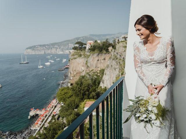 Il matrimonio di Victor e Simona a Sorrento, Napoli 13
