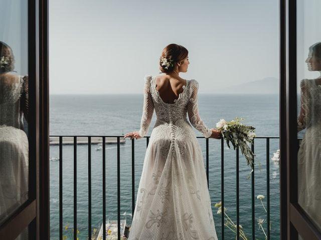 Il matrimonio di Victor e Simona a Sorrento, Napoli 15