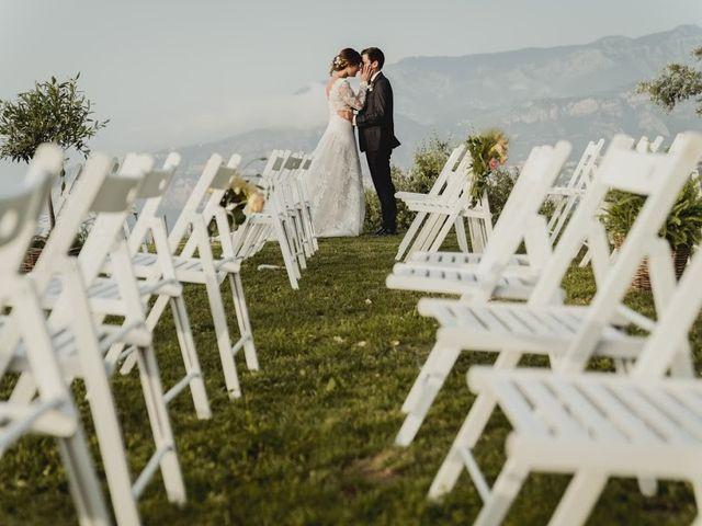 Il matrimonio di Victor e Simona a Sorrento, Napoli 1