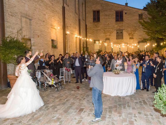 Il matrimonio di Cristian e Marika a Montefano, Macerata 11