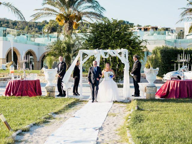 Il matrimonio di Francesca e Luca a Santa Cesarea Terme, Lecce 17