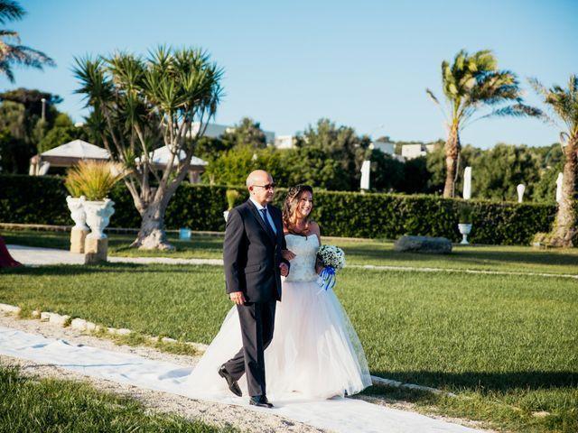 Il matrimonio di Francesca e Luca a Santa Cesarea Terme, Lecce 18