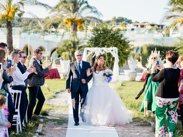 Il matrimonio di Francesca e Luca a Santa Cesarea Terme, Lecce 19