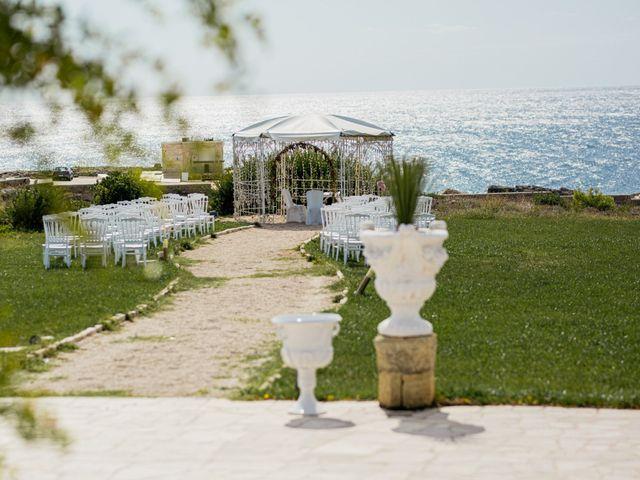Il matrimonio di Francesca e Luca a Santa Cesarea Terme, Lecce 21