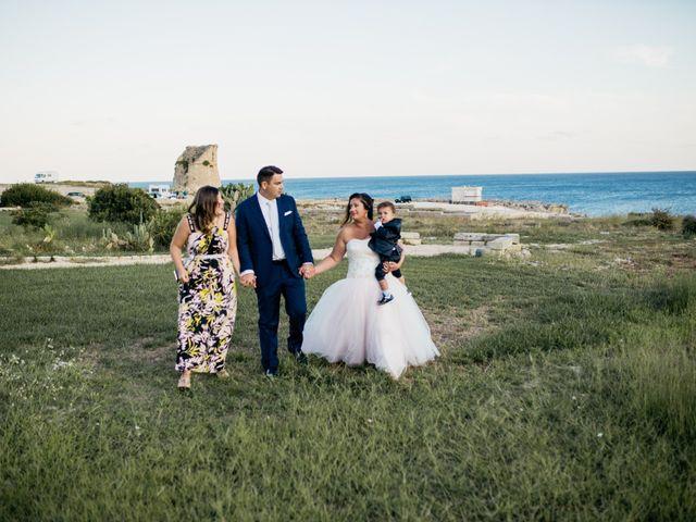 Il matrimonio di Francesca e Luca a Santa Cesarea Terme, Lecce 1