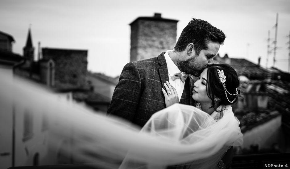 Il matrimonio di James e Carol a Arezzo, Arezzo