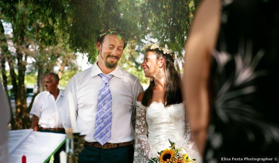 Il matrimonio di Davide e Francesca a Trecate, Novara