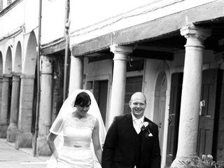 Le nozze di Claire e Michael