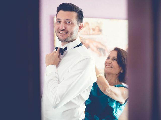Il matrimonio di Fabrizio e Kristina a Monvalle, Varese 3
