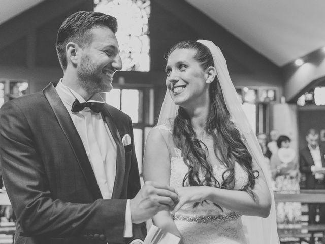 Il matrimonio di Fabrizio e Kristina a Monvalle, Varese 34