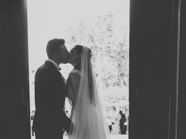 Il matrimonio di Fabrizio e Kristina a Monvalle, Varese 40