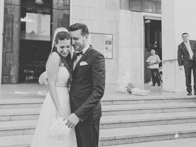 Il matrimonio di Fabrizio e Kristina a Monvalle, Varese 42