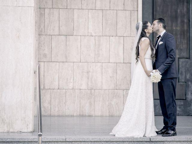 Il matrimonio di Fabrizio e Kristina a Monvalle, Varese 45