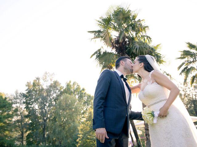 Il matrimonio di Fabrizio e Kristina a Monvalle, Varese 46