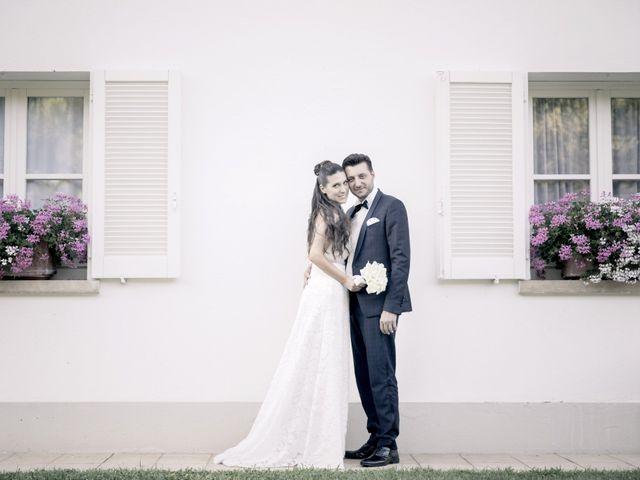 Il matrimonio di Fabrizio e Kristina a Monvalle, Varese 51
