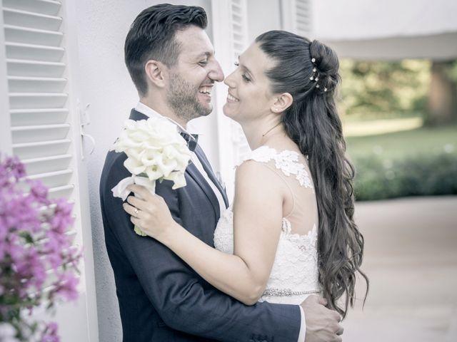 Il matrimonio di Fabrizio e Kristina a Monvalle, Varese 53