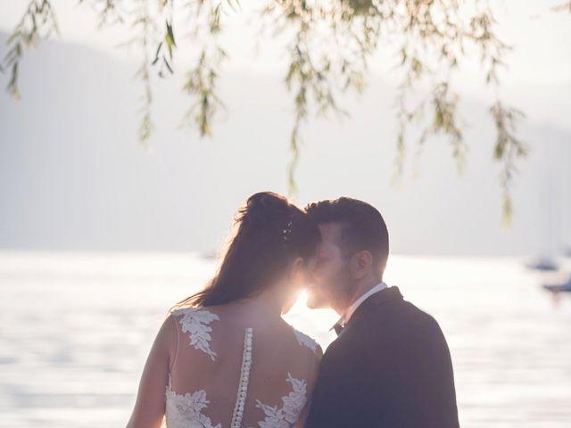 Il matrimonio di Fabrizio e Kristina a Monvalle, Varese 56