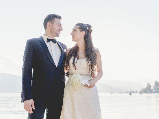 Il matrimonio di Fabrizio e Kristina a Monvalle, Varese 59