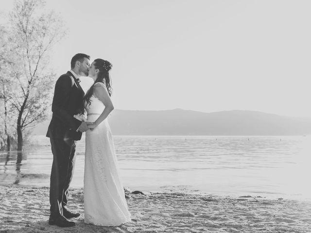 Il matrimonio di Fabrizio e Kristina a Monvalle, Varese 61