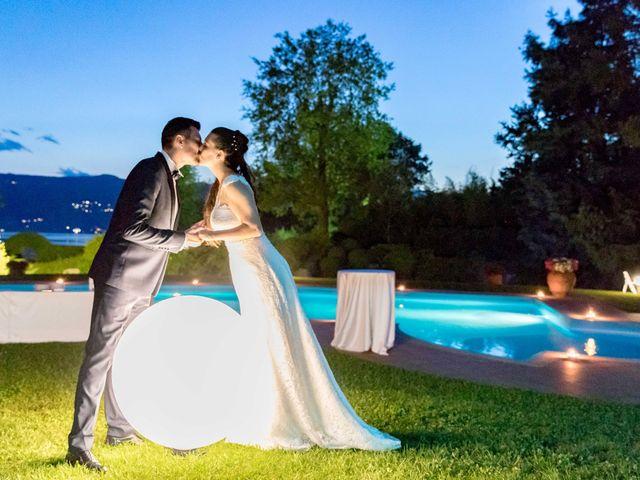 Il matrimonio di Fabrizio e Kristina a Monvalle, Varese 65