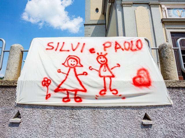 Il matrimonio di Paolo e Silvia a Gironico, Como 3