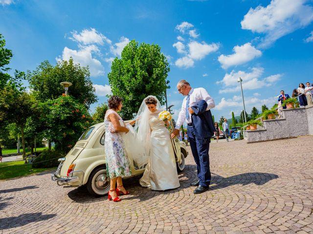 Il matrimonio di Paolo e Silvia a Gironico, Como 5