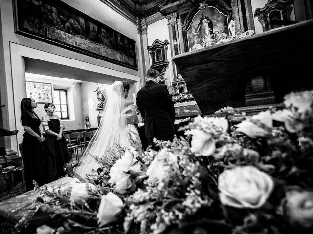 Il matrimonio di Paolo e Silvia a Gironico, Como 13