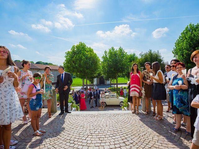 Il matrimonio di Paolo e Silvia a Gironico, Como 15