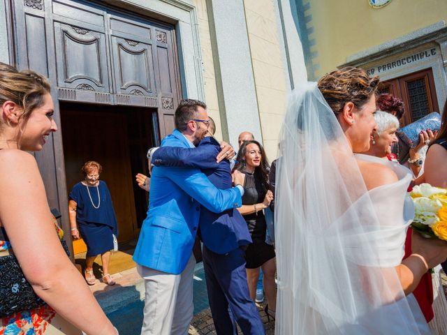 Il matrimonio di Paolo e Silvia a Gironico, Como 22