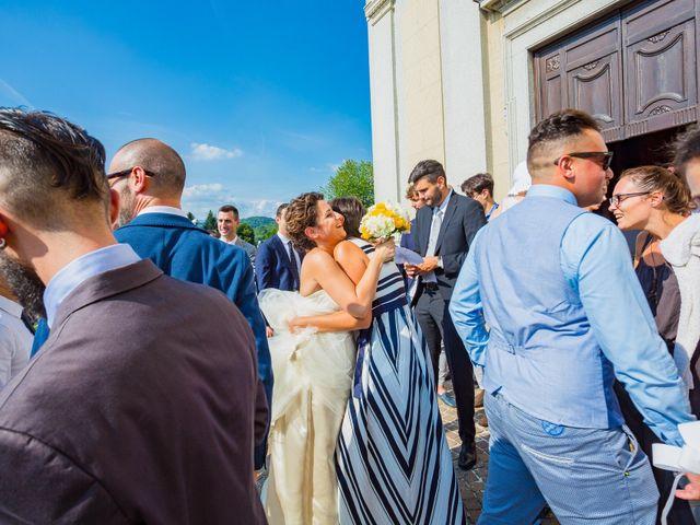 Il matrimonio di Paolo e Silvia a Gironico, Como 23