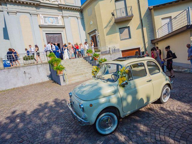 Il matrimonio di Paolo e Silvia a Gironico, Como 25