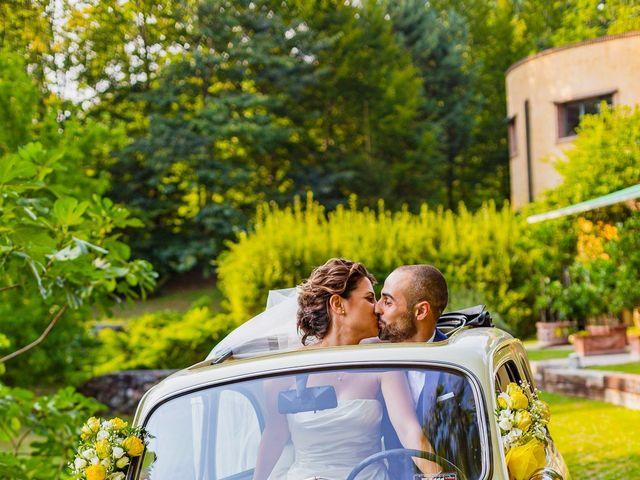 Il matrimonio di Paolo e Silvia a Gironico, Como 32