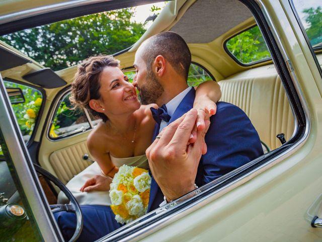 Il matrimonio di Paolo e Silvia a Gironico, Como 34