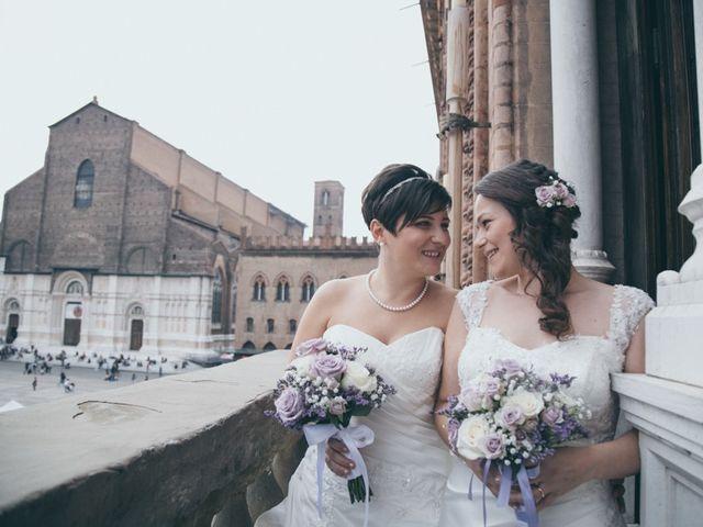 le nozze di Emanuela e Tania