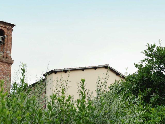 Il matrimonio di Davide e Elma a Pieve a Nievole, Pistoia 3