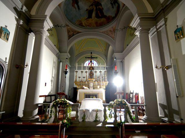 Il matrimonio di Davide e Elma a Pieve a Nievole, Pistoia 5